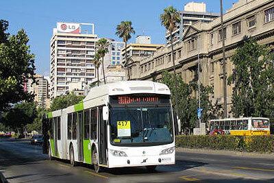Transantiago Bus