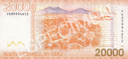 20000 pesos back