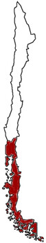 chile osorno mission map